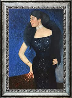 La Pastiche Portrait of Rose von Rosthorn-Friedmann Framed Oil Painting, 43.5