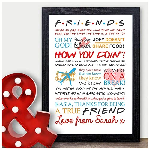 Best Friend Birthday Gifts Amazon Co Uk: Friends The TV Show Quotes: Amazon.co.uk