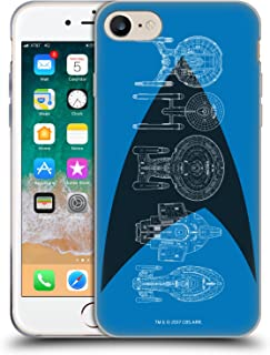 Official Star Trek Delta Complete Ships of The Line Soft Gel Case Compatible for iPhone 7 / iPhone 8