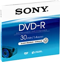 Sony 8cm DVD-R for Video Cameras - Single Pack