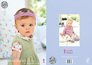 King Cole Baby Book Seven 7 Knitting Booklet Double Knitting Comfort DK Patterns - Birth to 7 Years