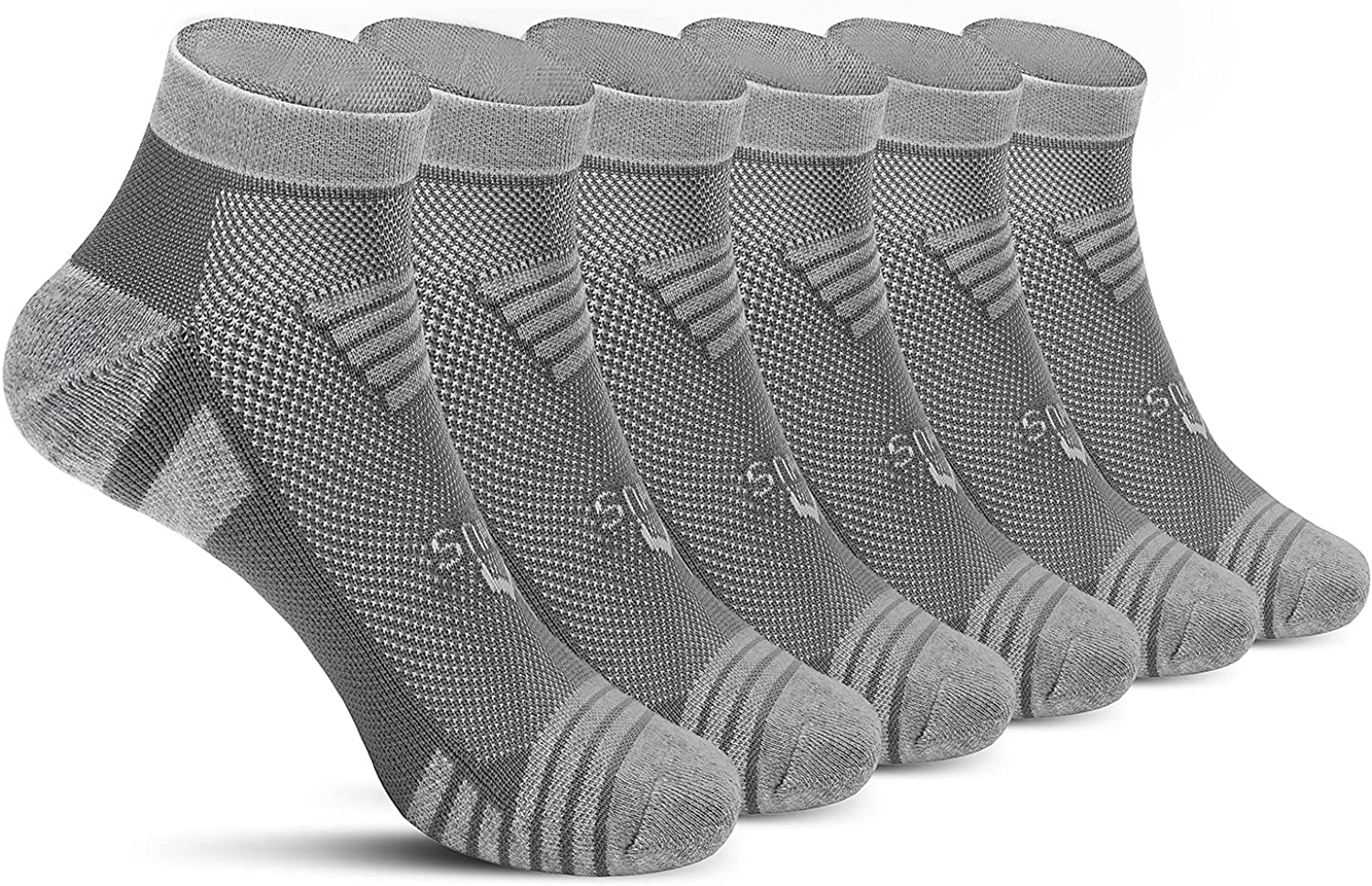 MWUS Indianapolis Choice Mall Men's Running Socks with Cushion Ankle Athlet 6 Sport Pack