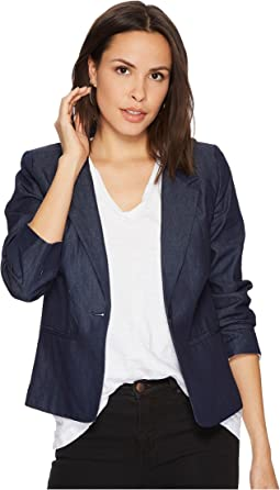 kensie - Lightweight Chambray Blazer KS1K2280