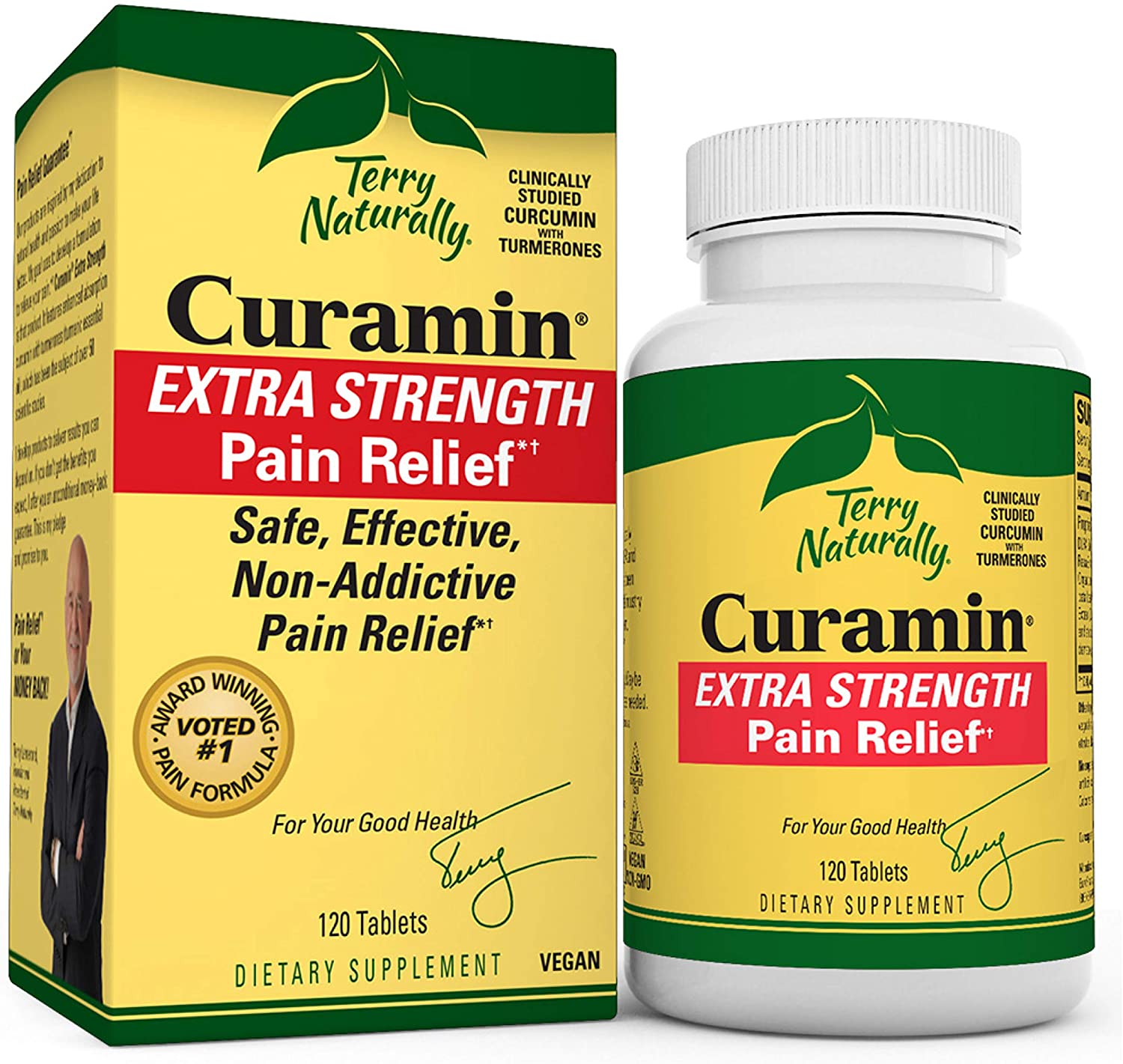 Terry Naturally Curamin Extra Strength Vegan - Max 53% OFF Tablets Non 120 Sales of SALE items from new works