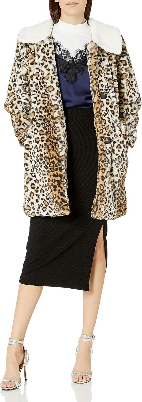 Steve Madden womens Faux Fur Fashion Jacket