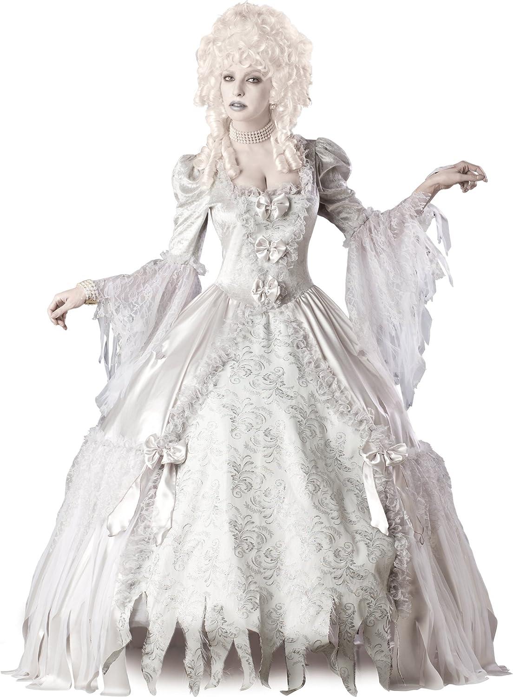precios mas bajos En Trajes de Coche-cter 211.267 Ghost Se-ora Elite Elite Elite Collection Adult Costume - blancoo - X-Large  grandes precios de descuento