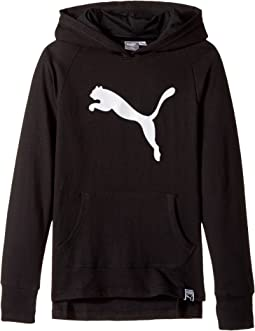 Puma Kids - Cotton French Terry Hoodie - Cotton/Poly (Big Kids)