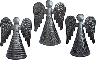 It's Cactus Angel Holiday Table Top Decor, Christmas Angel Ornaments, Set of 3, Tree Decor, Gift Giving, 3.75 in. x 3 in.