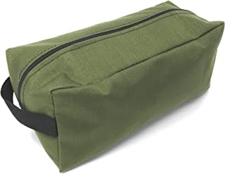 Toiletry Bag Shaving Basic Dopp Kit Travel Case 500/600 Denier Nylon USA Made (Olive Drab)