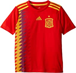 adidas Kids 2018 Spain Home Jersey (Little Kids/Big Kids)