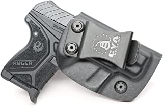 CYA Supply Co. IWB Holster Fits: Ruger LCP II - Veteran Owned Company - Made in USA - Inside Waistband Concealed Carry Holster