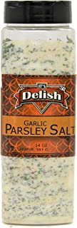 Garlic Parsley Salt by Its Delish, (Large Jar)