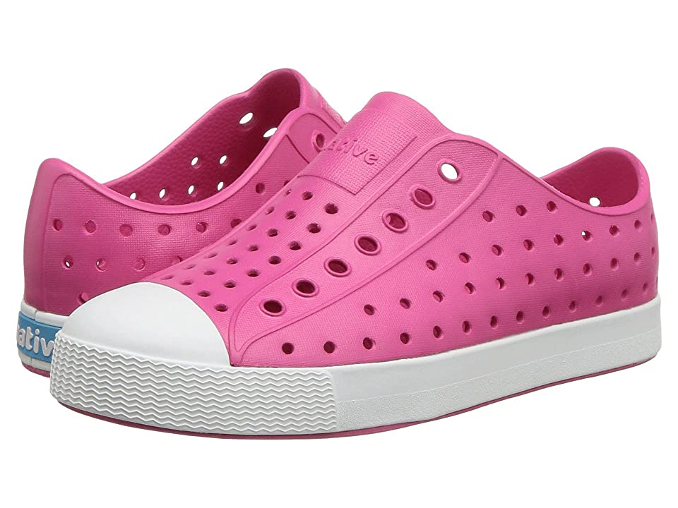 Native Kids Shoes Jefferson (Little Kid/Big Kid) (Hollywood Pink/Shell White) Kid