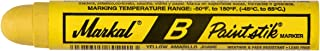 Markal 80221 B Paintstik Solid Paint Ambient Surface Marker Yellow (Pack of 12)
