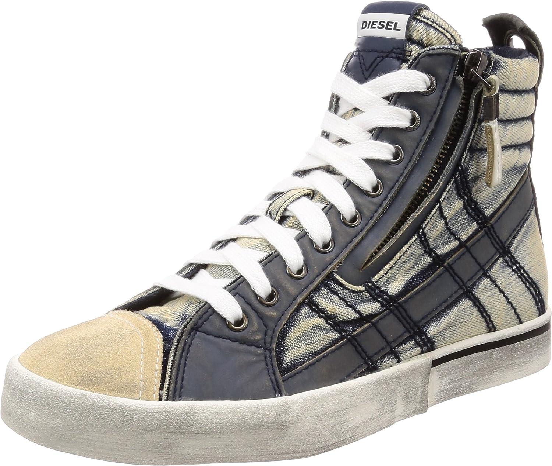 Diesel Mens D-Velows D-Velows Mid Lace Vintage - Sneaker Mid Sneaker
