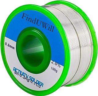 (0.6mm,100g) Lead-free Solder Wire Flux-core Solder Welding