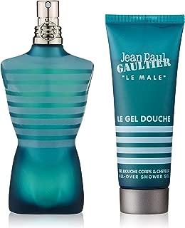 Le Male by Jean Paul Gaultier for Men 2 Piece Set Includes: 2.5 oz Eau de Toilette Spray + 2.5 oz Shower Gel