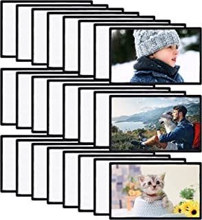 24 Pcs Rectangle Sublimation Patch Blanks Fabric Iron-on Patches Sublimation Blanks Iron-on Patch, Blank Patch Fabric Repa...