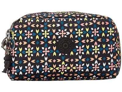 Kipling Gleam Pouch (Floral Mozzaik) Handbags