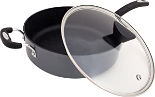 Ozeri ZP8-5L The Stone Earth All-In-One Sauce Pan, Gray