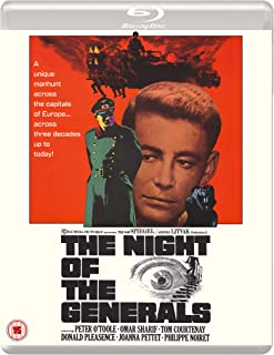 The Night Of The Generals Eureka Classics edition