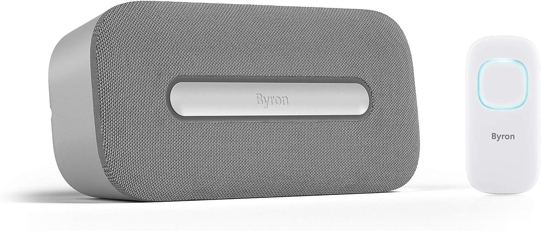 Byron DBY-25931 Timbre inalámbrico – Alcance de 200metros – Compatible con la Smartwares PRO Series