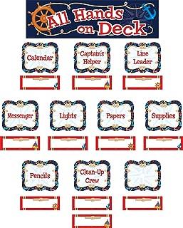 Nautical All Hands on Deck Classroom Jobs Mini Bulletin Board