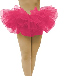 Classic Adult Tutus 3, 5 Layered Tulle Tutu Skirt for Women & Girls