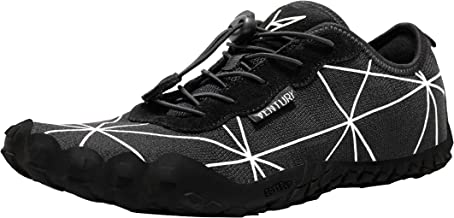 Ventury Zero Barefoot Trail Running Shoes - Minimalist Runners with Wide Toe Box and Zero Drop Sole for Men and Women - for Jogging, Hiking, Gym and Walking