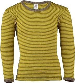 Bambini ascelle camicia di lana Gr seta 92/ Angelo Natura /176