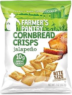 Farmer's Pantry Jalapeno Cornbread Crisps, Jalapeno, 2 Ounce (Pack of 8)