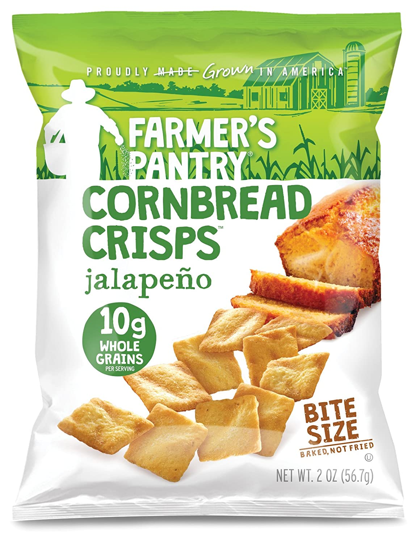 Popular popular Farmer's Pantry Jalapeno Cornbread Pa Crisps Bombing new work Ounce 2