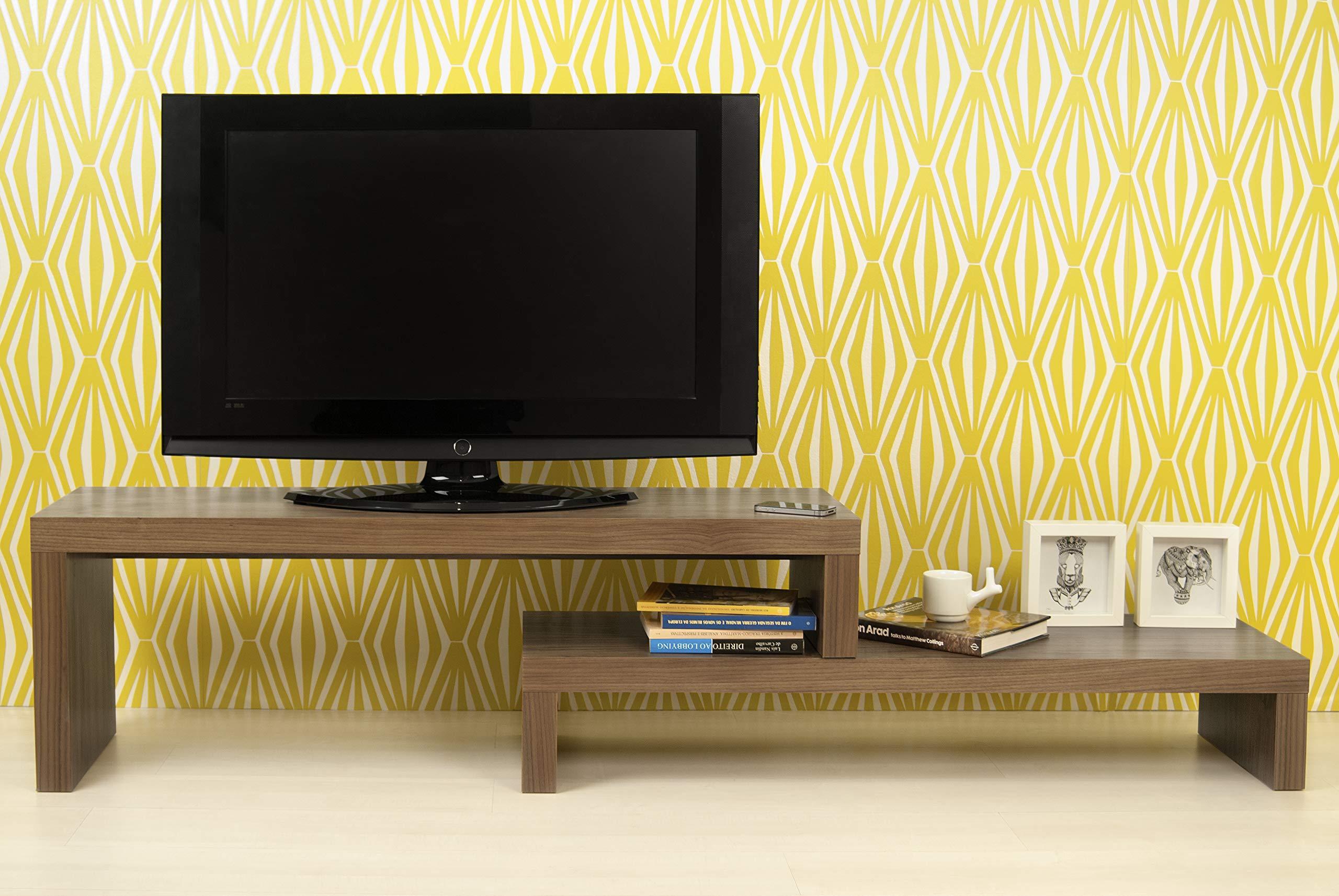 Clif - Mesa de TV (120 + 120 cm): Amazon.es: Hogar
