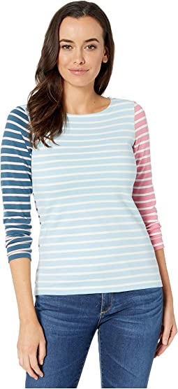 Blue/Cream Stripe