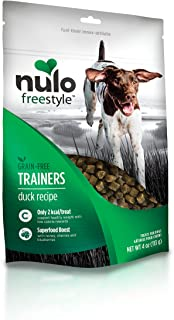 Nulo Puppy & Adult Freestyle Trainers Dog Treats: Healthy Gluten Free Low Calorie Grain Free Dog Training Rewards - 4 oz Bag