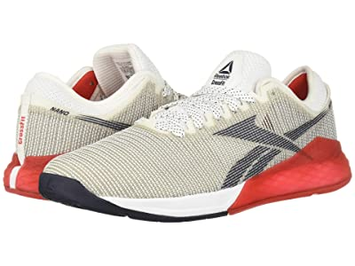 Reebok Nano 9 (White/Primal Red/Collegiate Navy) Men