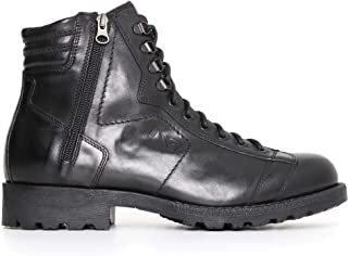 NeroGiardini A705492U Botas Militares Hombre De Piel