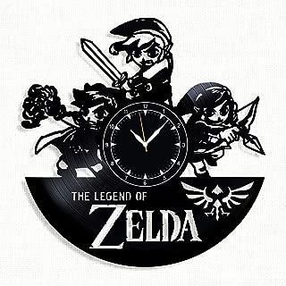 SofiClock The Legend of Zelda Vinyl Record Wall Clock 12