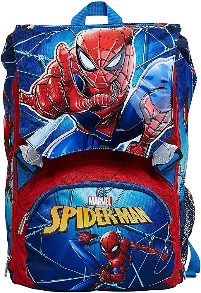 Seven zaino spiderman per la scuola 229002101-550