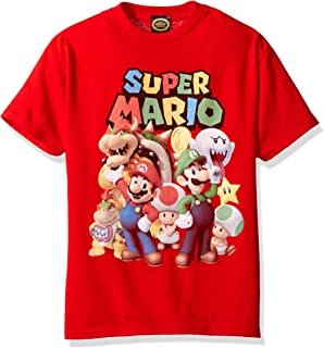 Nintendo Boys' Super Mario Groupage Graphic T-Shirt