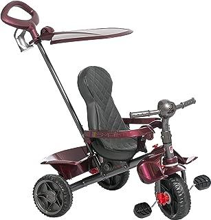 Triciclo Smart Reclinável Bandeirante Vinho