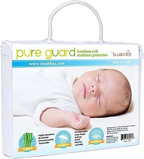 Crib Mattress Protector | Waterproof Crib Mattress Cover | Crib Mattress Pad | Baby Mattress Protector
