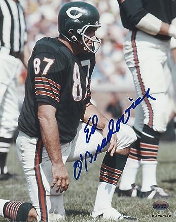 1a083d03e3b Ed O Bradovich Chicago Bears Autographed 8x10 Football Photo 1