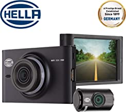 Hella DR760 - DashCam 1080P WiFi Dual Channel 3.5