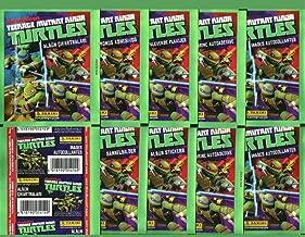 10 packs Panini 2014 Unopened lot TMNT Stickers 10 PACKS Teenage Mutant Ninja Turtles nonsport