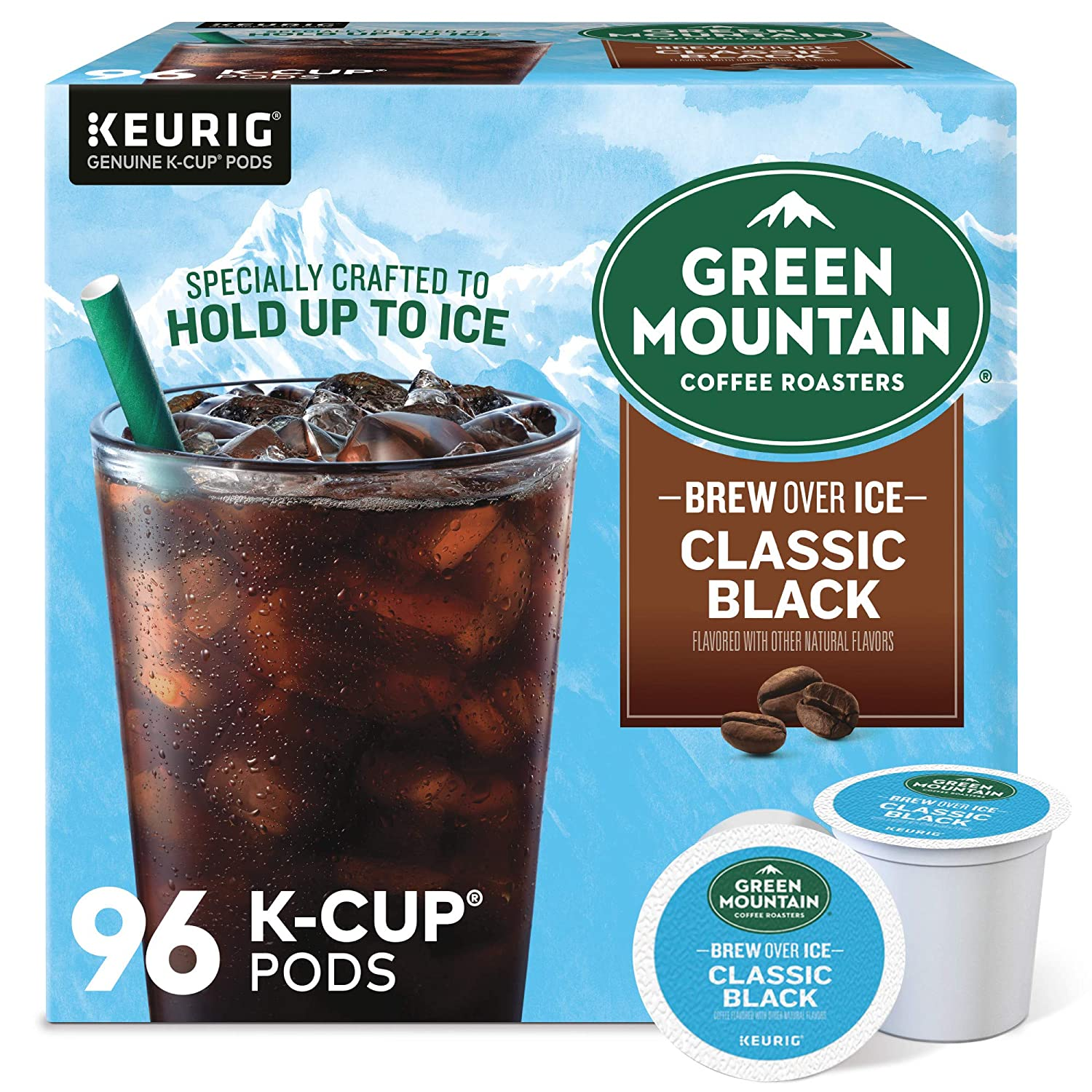 Green Mountain Free shipping Max 47% OFF Coffee Roasters Brew Over Sing Black Classic Ice