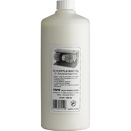 Saro - Crema liquida per la cura delle scarpe, contenuto 1 l, incolore, quindi utilizzabile per tutti i colori