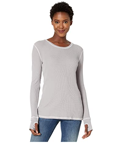 Mod-o-doc Thermal Long Sleeve Tee with Thumb-Holes (Mercury) Women