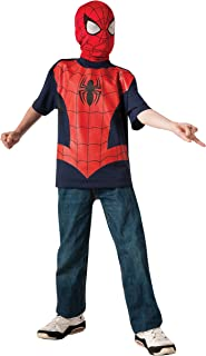 Rubie's Marvel Ultimate Spider-man T-Shirt and Mask, Child Large - Child Large One Color