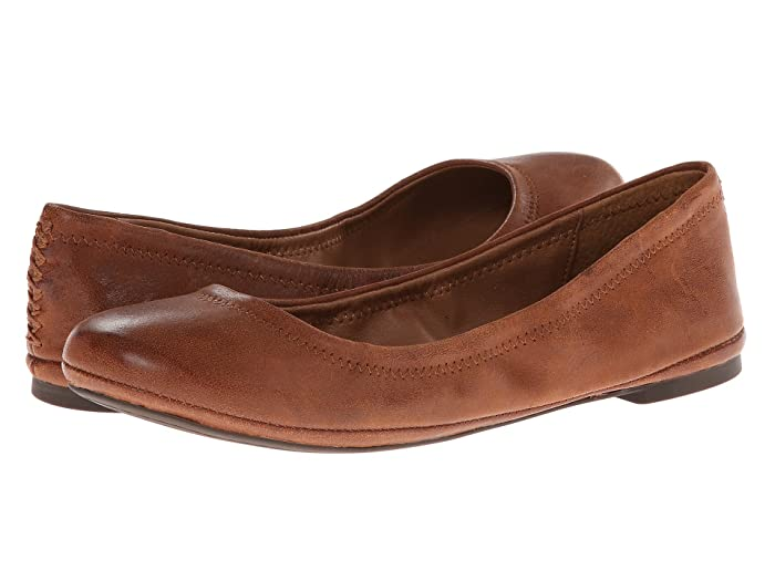 Lucky Brand  Emmie (Bourbon) Womens Flat Shoes